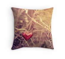 *It hangs by a thread... Throw Pillow