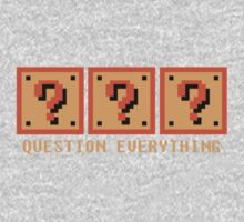 Question Everything Kids Clothes