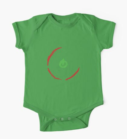 Red Ring Of Death One Piece - Short Sleeve