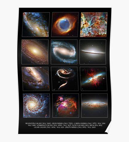 Space Beauties Poster
