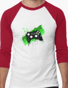Box Graffiti Controller Men's Baseball ¾ T-Shirt