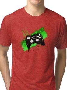 Box Graffiti Controller Tri-blend T-Shirt