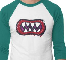Bowser Jr. Men's Baseball ¾ T-Shirt