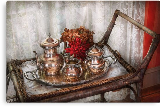 Barista - Tea Set - Morning tea  by Mike  Savad