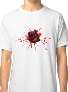 Rock Hand Graffiti Classic T-Shirt