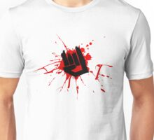 Rock Hand Graffiti Unisex T-Shirt