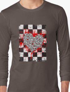Emo Ska Skulls Long Sleeve T-Shirt