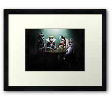 Evil Flush Framed Print