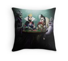 Evil Flush Throw Pillow