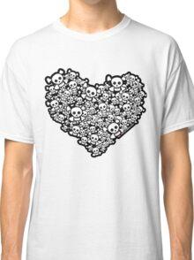 Emo Skull Love Classic T-Shirt