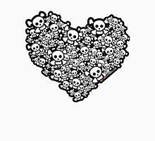 Emo Skull Love Unisex T-Shirt