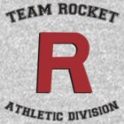 Team Rocket Athletic Tee by hunnydoll