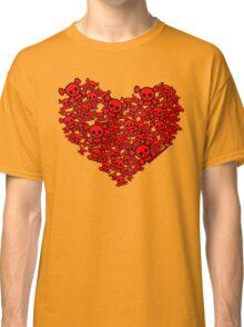 Cute Emo Skull Heart Classic T-Shirt