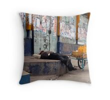 People 4198 La Paz, Bolivia Throw Pillow