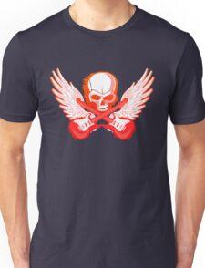 Rock Music Skull Guitar Unisex T-Shirt