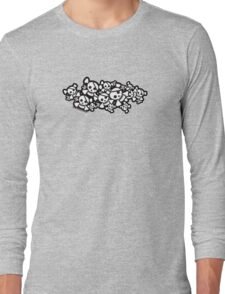Cute Skulls Long Sleeve T-Shirt