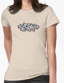 Cute Skulls Womens T-Shirt
