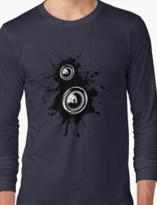 Speaker Splatter Long Sleeve T-Shirt