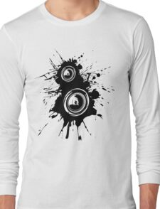 Speaker Splatter Long Sleeve T-Shirt