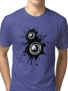 Speaker Splatter Tri-blend T-Shirt