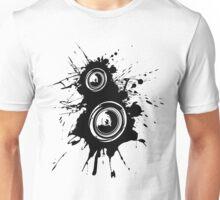 Speaker Splatter Unisex T-Shirt