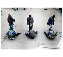 People 4160  La Paz, Bolivia Poster