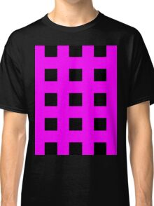 Pink And Black Crosses Classic T-Shirt