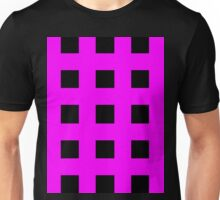 Pink And Black Crosses Unisex T-Shirt