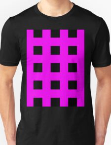 Pink And Black Crosses T-Shirt