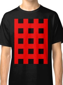 Red And Black Crosses Classic T-Shirt