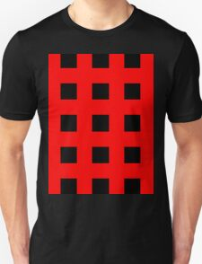 Red And Black Crosses T-Shirt