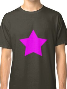 Pink Emo Star Classic T-Shirt