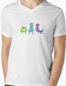 monsters x katamari Mens V-Neck T-Shirt