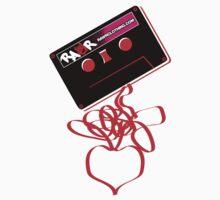 Retro Cassette Tape Love One Piece - Long Sleeve