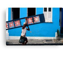 People 7345 (Salvador, Brasil) Canvas Print