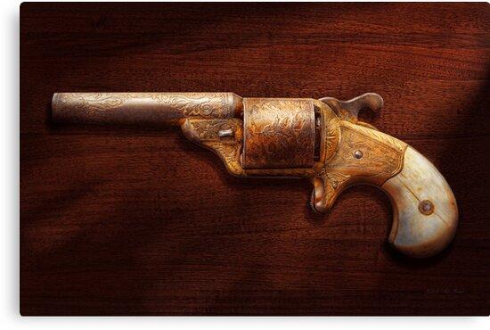 Police - Gun - Mr Fancy Pants by Mike  Savad