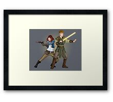 The Smuggler and the Consular (Doctor Who) Framed Print