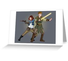The Smuggler and the Consular (Doctor Who) Greeting Card
