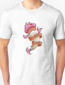 Tattoo design a mother would love - cupcake T-Shirt