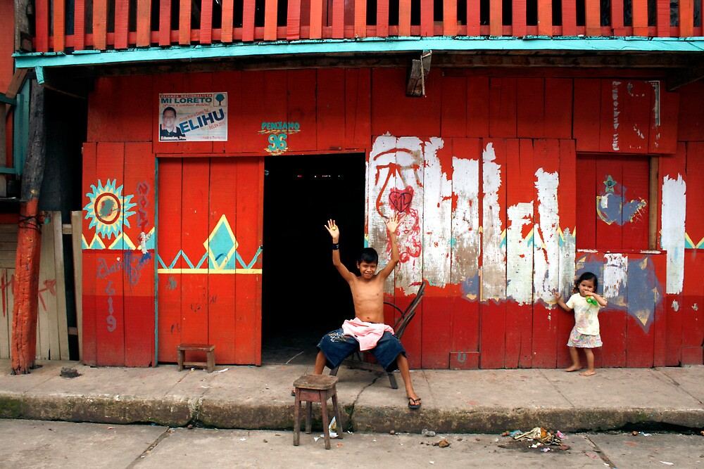 Iquitos, Peru 0598 by Mart Delvalle