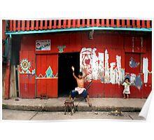 Iquitos, Peru 0598 Poster