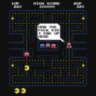 Mario in pacman world by RetroGameAddict