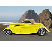 1934 Ford Roadster PCH III Photographic Print