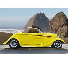 1934 Ford Roadster PCH IV Photographic Print