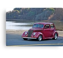 1937 Ford Sedan Canvas Print