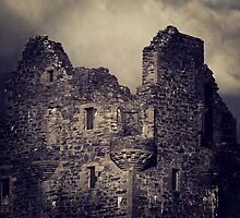 Scalloway Castle Built Under Instruction From Earl Patrick Stewart by ArtofOrdinary