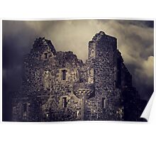 Scalloway Castle Built Under Instruction From Earl Patrick Stewart Poster