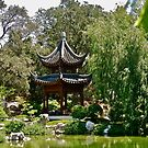 Pagoda at the Chinese Garden by Joni  Rae
