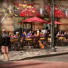 Cafe - Hoboken, NJ - Cafe Trinity  by Mike  Savad