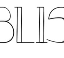 Bliss Sticker